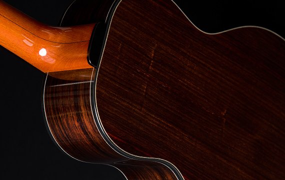 Greenfield Guitars | Bespoke Guitars, Custom made, Concert guitars Model G5, east Indian rosewood, mahogany neck