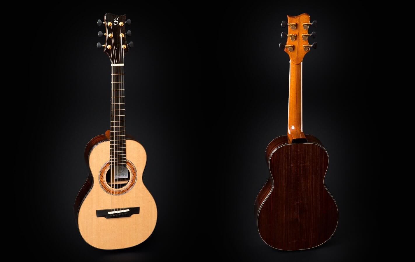 Greenfield Guitars | Fine handmade Acoustic Guitars Model G5, soprano guitar, Sitka spruce, east Indian rosewood