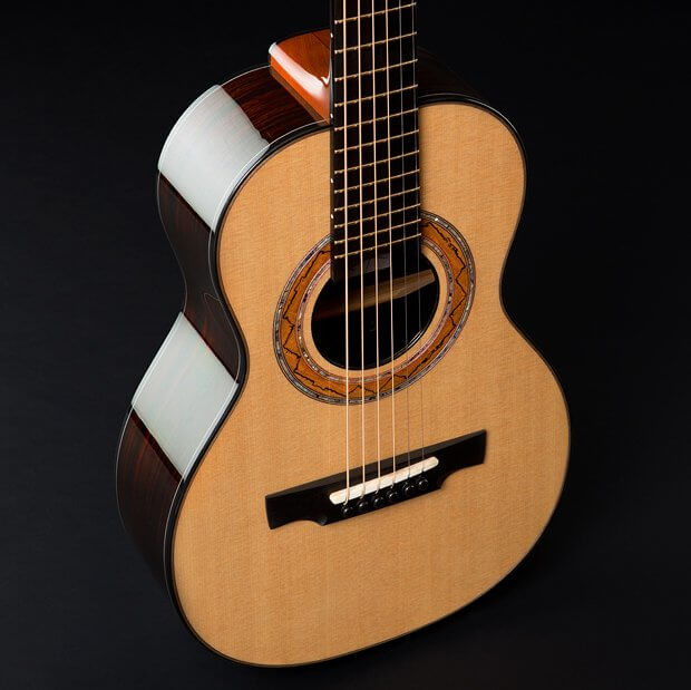 Greenfield acoustic Guitar Model G5, soprano guitar, Sitka spruce, east Indian rosewood