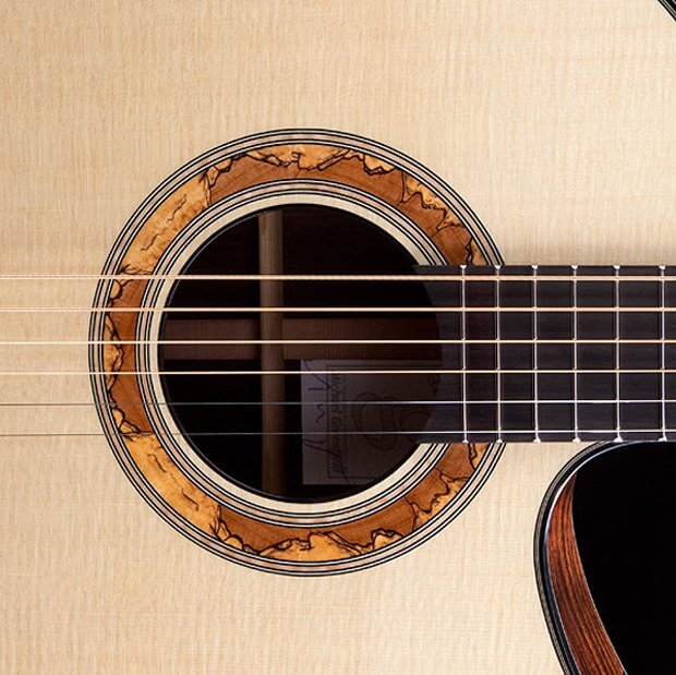 Greenfield acoustic Guitar model GF Rosette