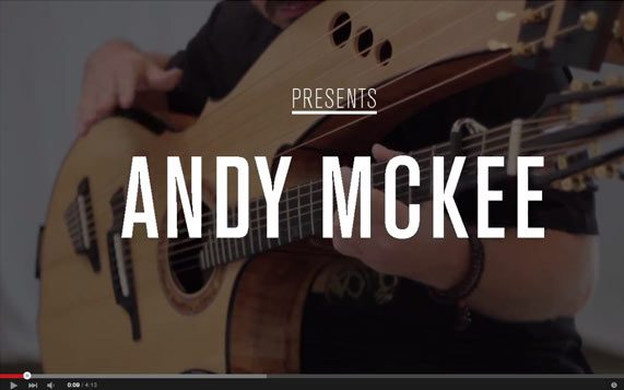 Greenfield Guitars | Model HG, Harp Guitar, Andy McKee, YouTube