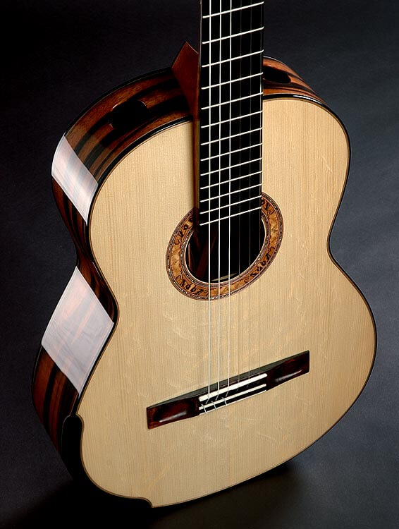Greenfield acoustic Guitar model C1