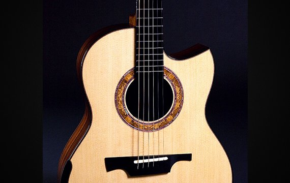 Greenfield Guitars | Bespoke Guitars, Custom made, Concert guitars, Model G1, Lutz spruce, Madagascar rosewood