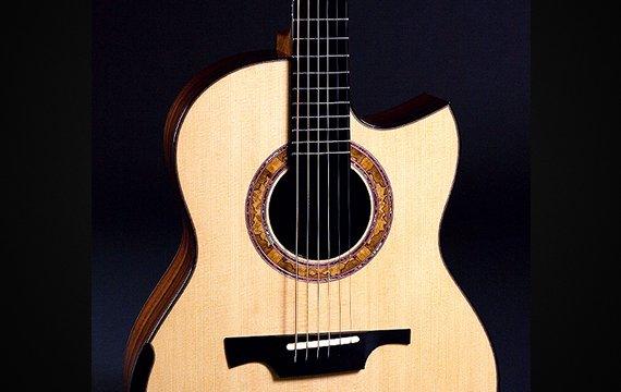 Greenfield Guitars | Bespoke Guitars, Custom made, Concert guitars, Model G1, Lutz spruce, Madagascar rosewood