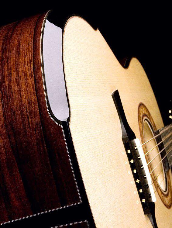 Greenfield Acoustic guitar model G1 Laskin Inspired Arm Rest