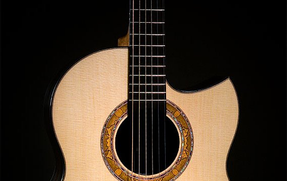 Greenfield Guitars | Fine woodworking, Lutherie, Guitarmaking, Acoustic Guitars, Lutz spruce soundboard