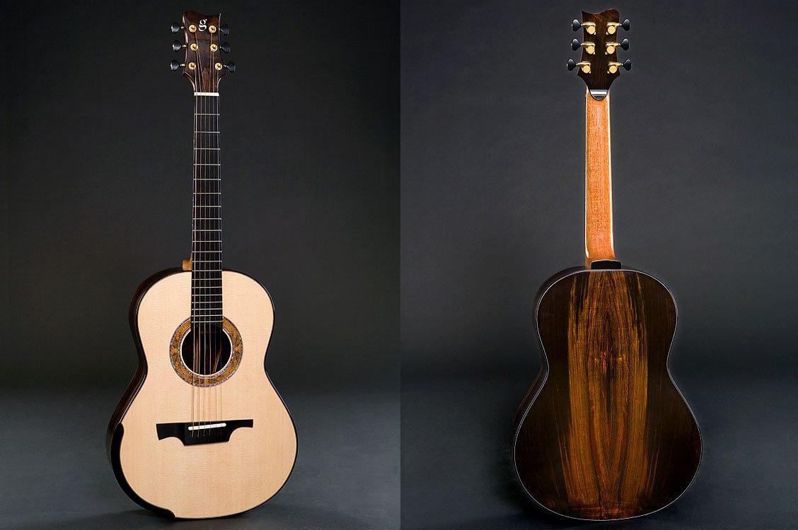Greenfield Guitars | Fine handmade Acoustic Guitars Model G3, Brazilian rosewood, Lutz spruce, laskin arm rest