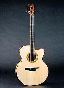Greenfield Acoustic guitar model G4 Koa Adirondack