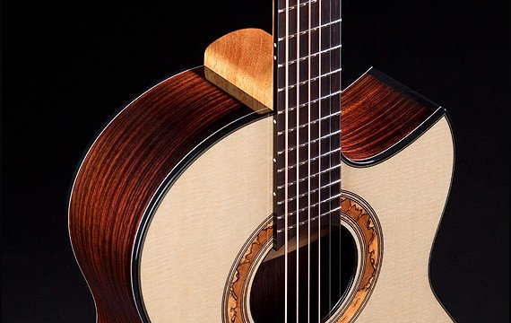 Greenfield Guitars | Fine woodworking, Lutherie, Guitarmaking, Acoustic Guitars, Model GF, east Indian Rosewood, Sitka spruce, Florentine cutaway