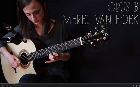 Greenfield Guitars | Model GF, Sitka spruce, east Indian rosewood, Florentine cutaway, Merel van Hoek, YouTube