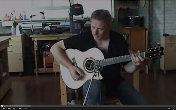 Greenfield Guitars | Tony McManus model G1 YouTube