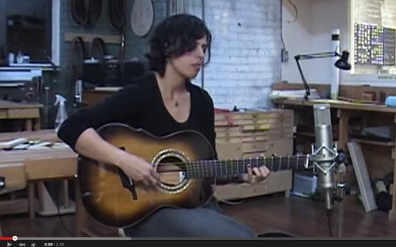 Greenfield Guitars | Model G3, sunburst, mahogany, Melissa Greener, YouTube