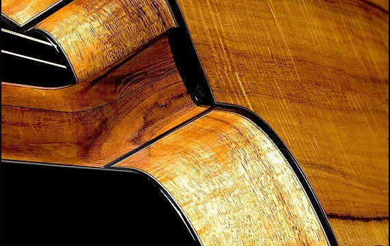 Greenfield Guitars | Fine woodworking, Lutherie, Guitarmaking, Acoustic Guitars, Model HG, Koa, Koa neck, ebony binding